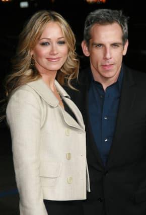 Ben Stiller and wife Christine