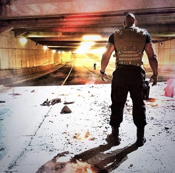 Fast and Furious 7 Star Dwayne Johnson