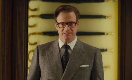 Kingsman The Secret Service Clip: Welcome to the Weapons Cache