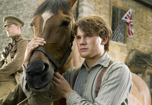 Jeremy Irvine Stars in War Horse