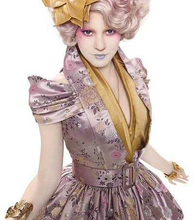Effie Trinket is Elizabeth Banks