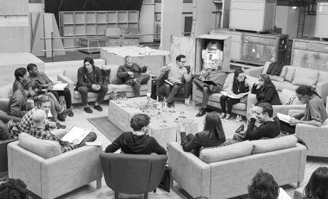 Star Wars Episode VII Cast Read