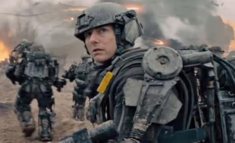 Edge of Tomorrow TV Spot: Tom Cruise Lives, Dies & Repeats