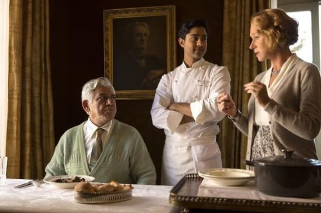 The Hundred-Foot Journey Helen Mirren Om Puri Manish Dayal