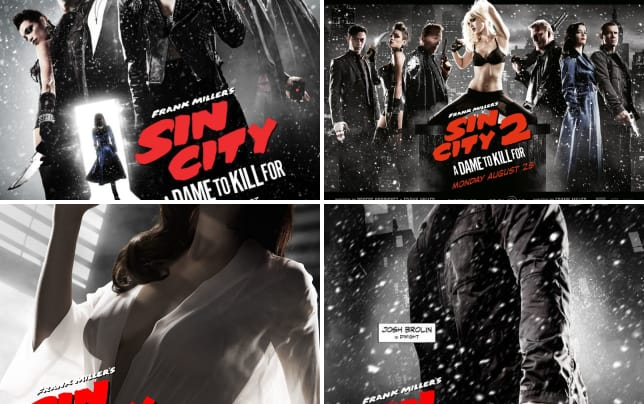 Sin city a dame to kill for cast poster