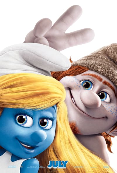 The Smurfs 2 Poster: The Naughties