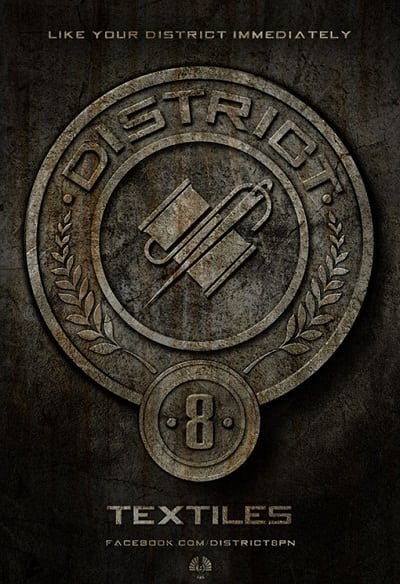 The Hunger Games Badges: Textiles