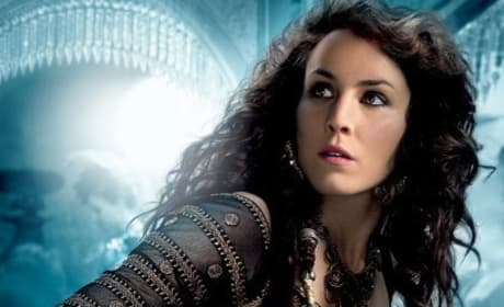 Noomi Rapace in Sherlock Holmes: A Game of Shadows
