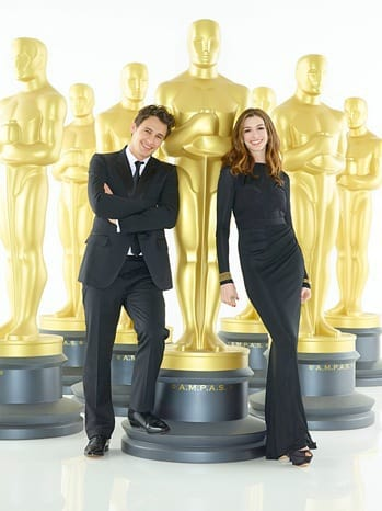 James Franco Anne Hathaway Oscars