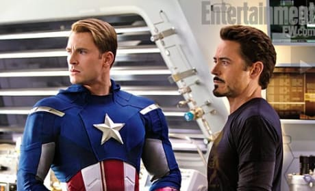 The Avengers: Behind the Scenes Images Released