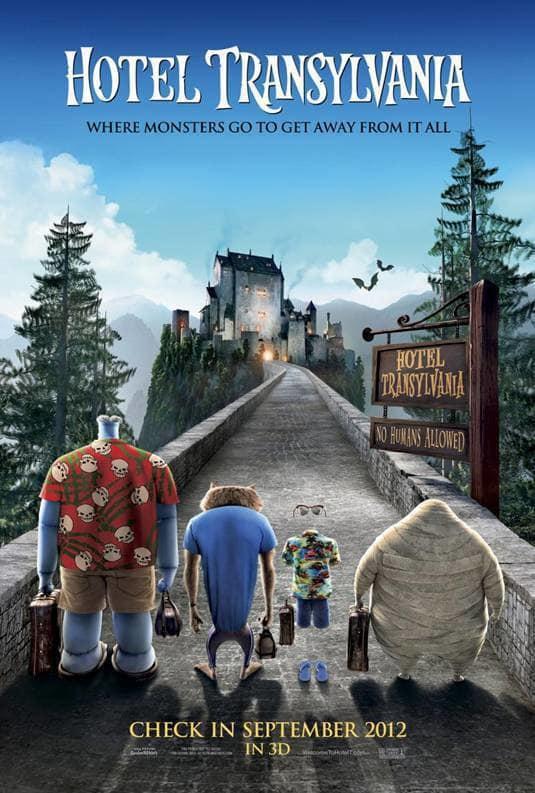 Hotel Transylvania Poster 2