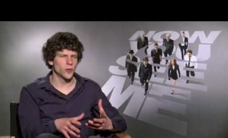 Jesse Eisenberg Exclusive -- Now You See Me Interview