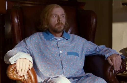 Simon Pegg in A Fantastic Fear of Everything