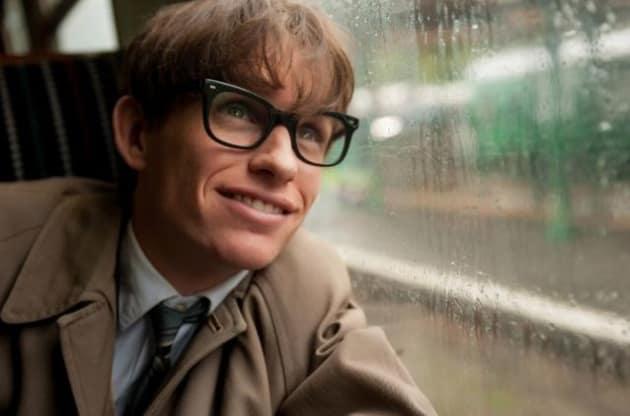 Eddie Redmayne is Stephen Hawking