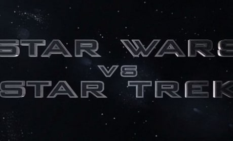 Star Wars vs. Star Trek Trailer: Captain Kirk Battles Darth Vader!