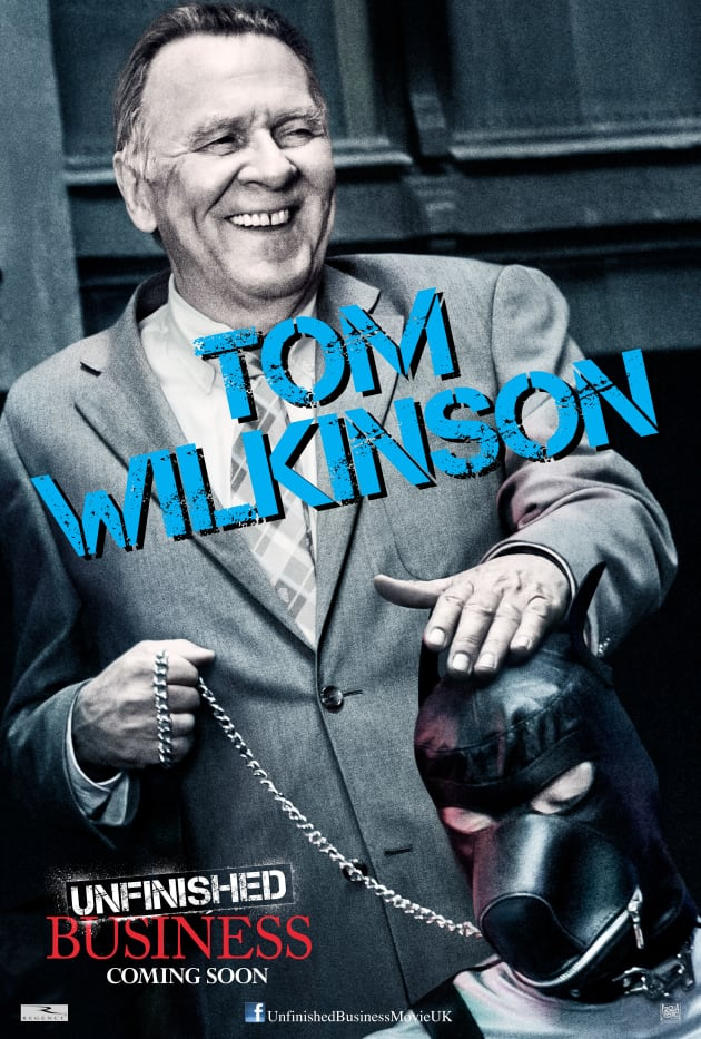 Unfinished Business Tom Wilkinson Poster