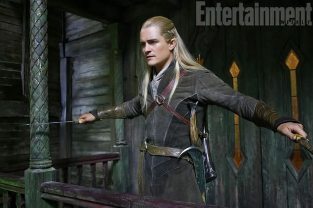 Orlando Bloom Legolas The Hobbit The Desolation of Smaug