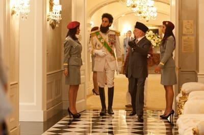 The Dictator Still: Aladeen Walks Down Hall