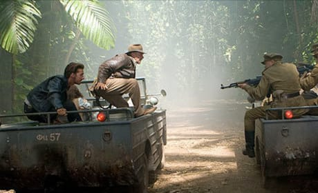 New Photos from Indiana Jones 4, The Dark Knight