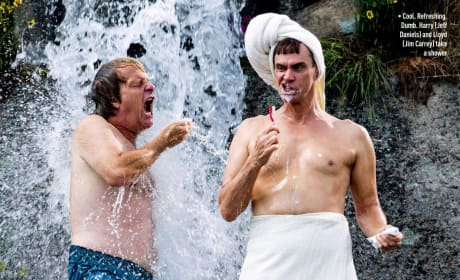 Dumb and Dumber To: Jim Carrey & Jeff Daniels Get Clean (Together)