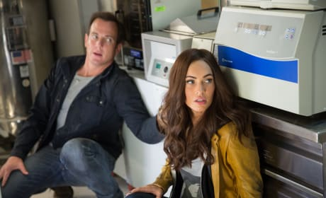 Megan Fox Will Arnett Teenage Mutant Ninja Turtles