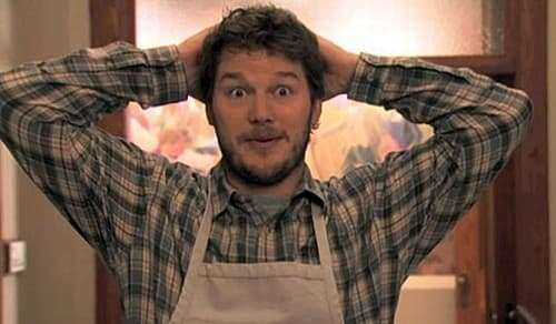Chris Pratt on Parks and Rec