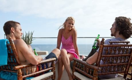 Blake Lively, Taylor Kitsch and Aaron Johnson in Savages