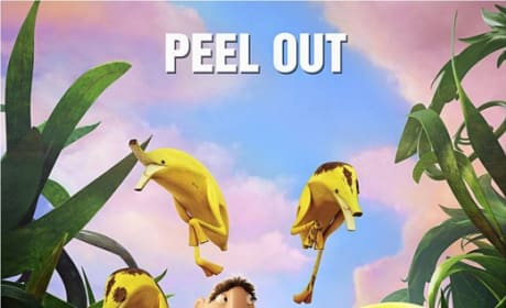 Cloudy with a Chance of Meatballs 2 Peel Out Poster