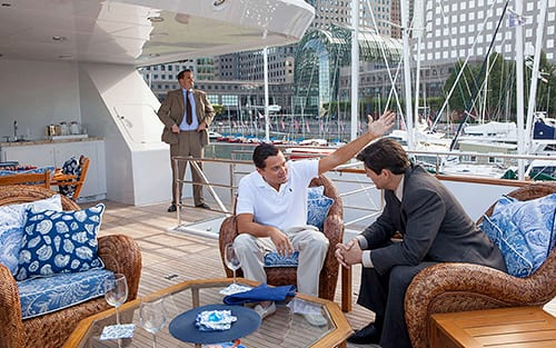 The Wolf of Wall Street Leonardo DiCaprio Kyle Chandler
