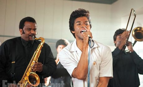 Get On Up: First Look at Chadwick Boseman as James Brown