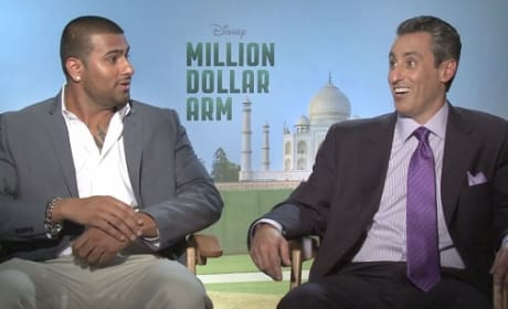 Million Dollar Arm Exclusive: Meet the Real Guys That Inspired the Disney Movie!