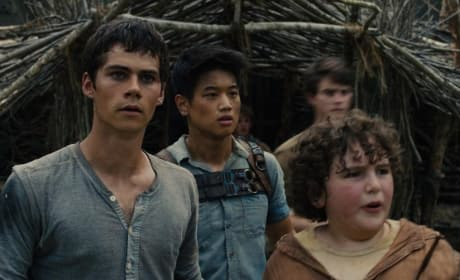 The Maze Runner Blake Cooper Dylan O'Brien