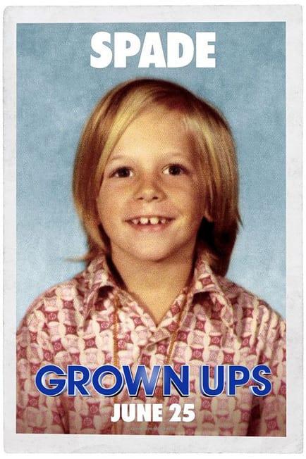 Grown Ups David Spade Kid Poster