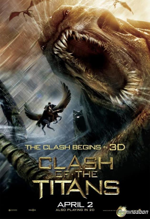 Clash of the Titans Kraken Poster