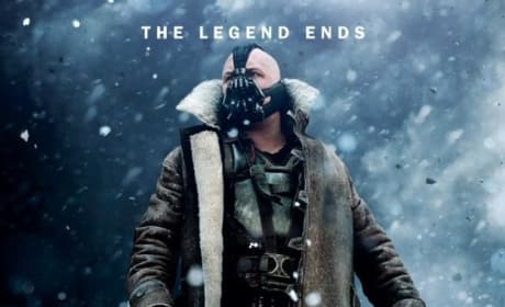 The Dark Knight Rises Snow Character Poster: Bane