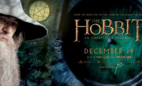 The Hobbit Gandalf Banner