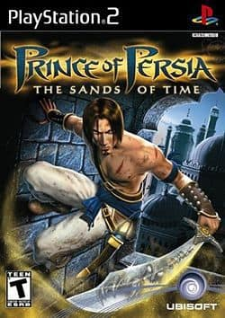 Prince of Persia PS2 Box Art