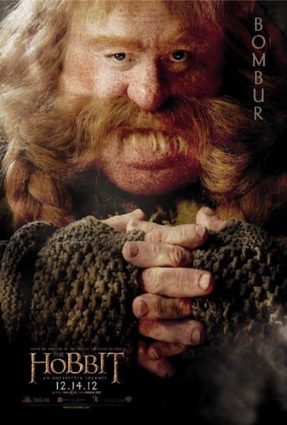 The Hobbit Bombur Poster