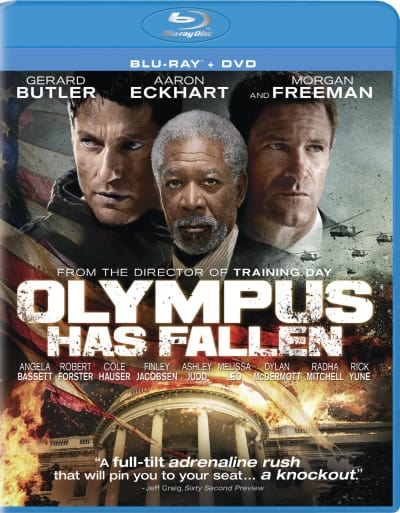 Olympus Has Fallen DVD