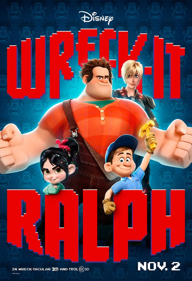 Wreck-It Ralph Characters Poster