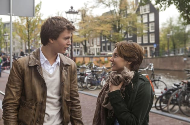 Shailene & Ansel Head to Amsterdam