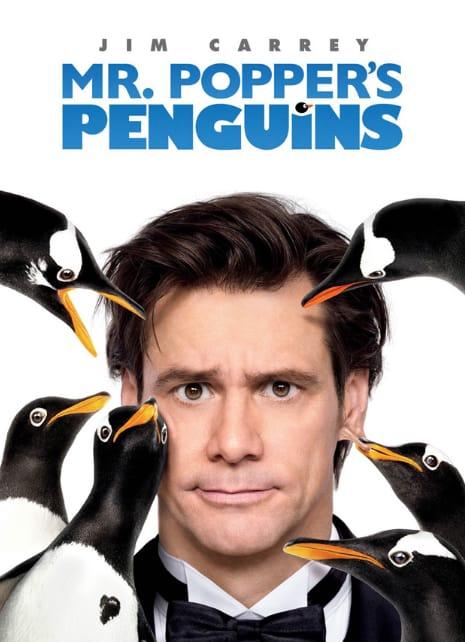 Mr. Popper's Penguins Movie Poster