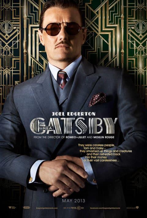 Joel Edgerton Great Gatsby Poster