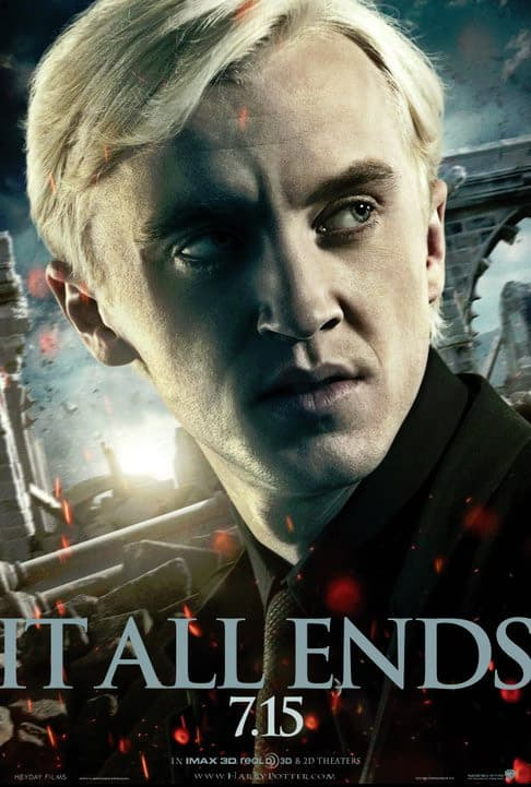 Harry Potter and the Deathly Hallows Draco Malfoy Poster