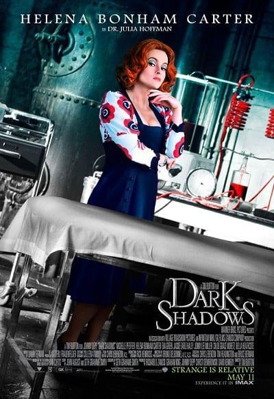 Helena Bonham Carter Dark Shadows Character Poster