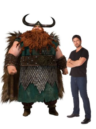 Gerard Butler as Stoick