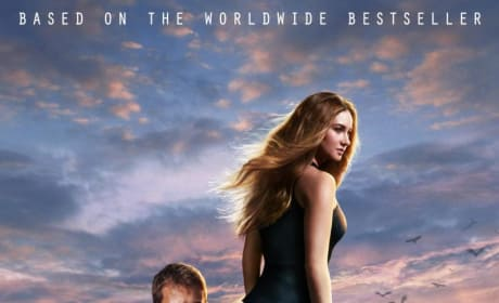 Divergent Poster: Shailene Woodley & Theo James Stare Down The Future