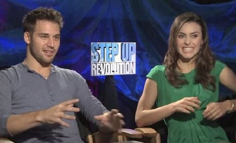 Step Up Revolution Exclusive: Kathryn McCormick & Ryan Guzman on Mob Rule