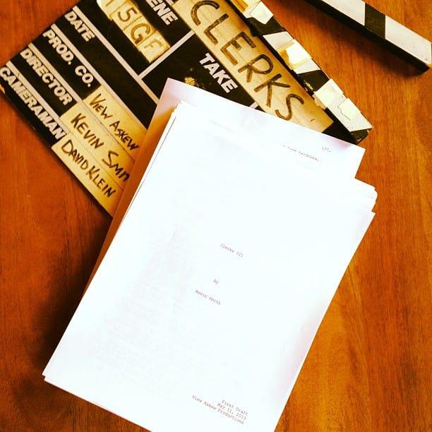 Clerk movie script