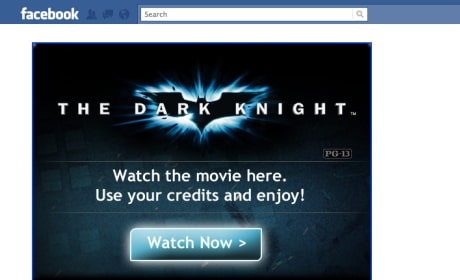 Warner Bros. Offering Movie Rentals Through Facebook